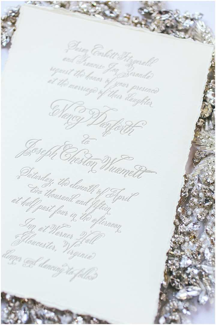 Deckle Edge Paper Wedding Invitations top 10 Wedding Stationery Trends for 2017 Letterpress