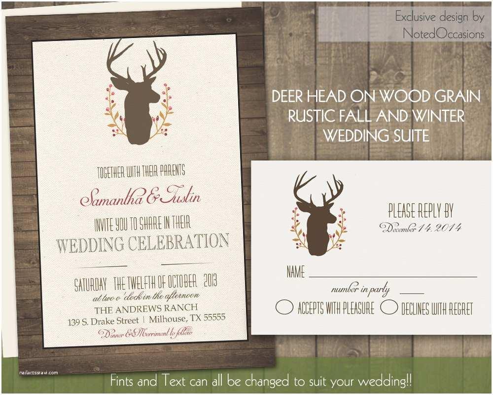 Deer Antler Wedding Invitations Chandeliers & Pendant Lights