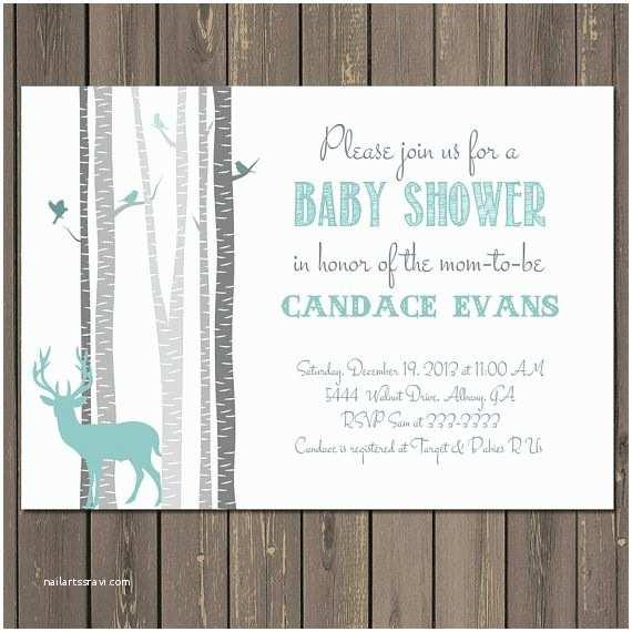 Deer Baby Shower Invitations Best 25 Deer Baby Showers Ideas On Pinterest