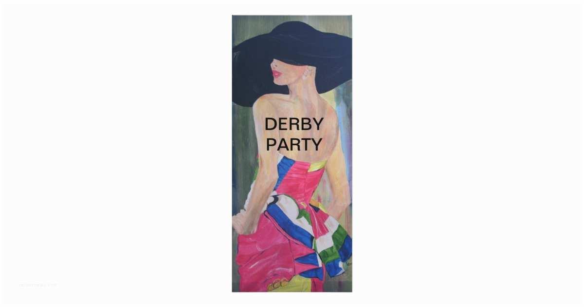 Derby Party Invitations Gigi Derby Party Invitation