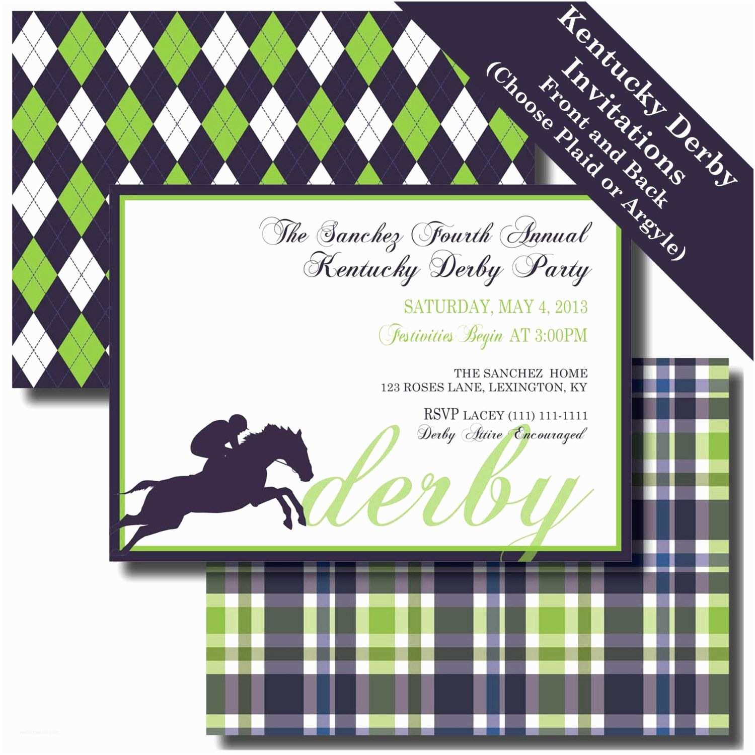 Derby Party Invitations Kentucky Derby Party Kentucky Derby Invitation Kentucky