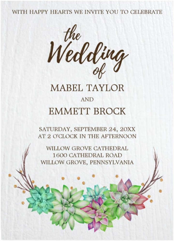Desert Wedding Invitations 14 Desert Wedding Invitation Designs & Templates Psd