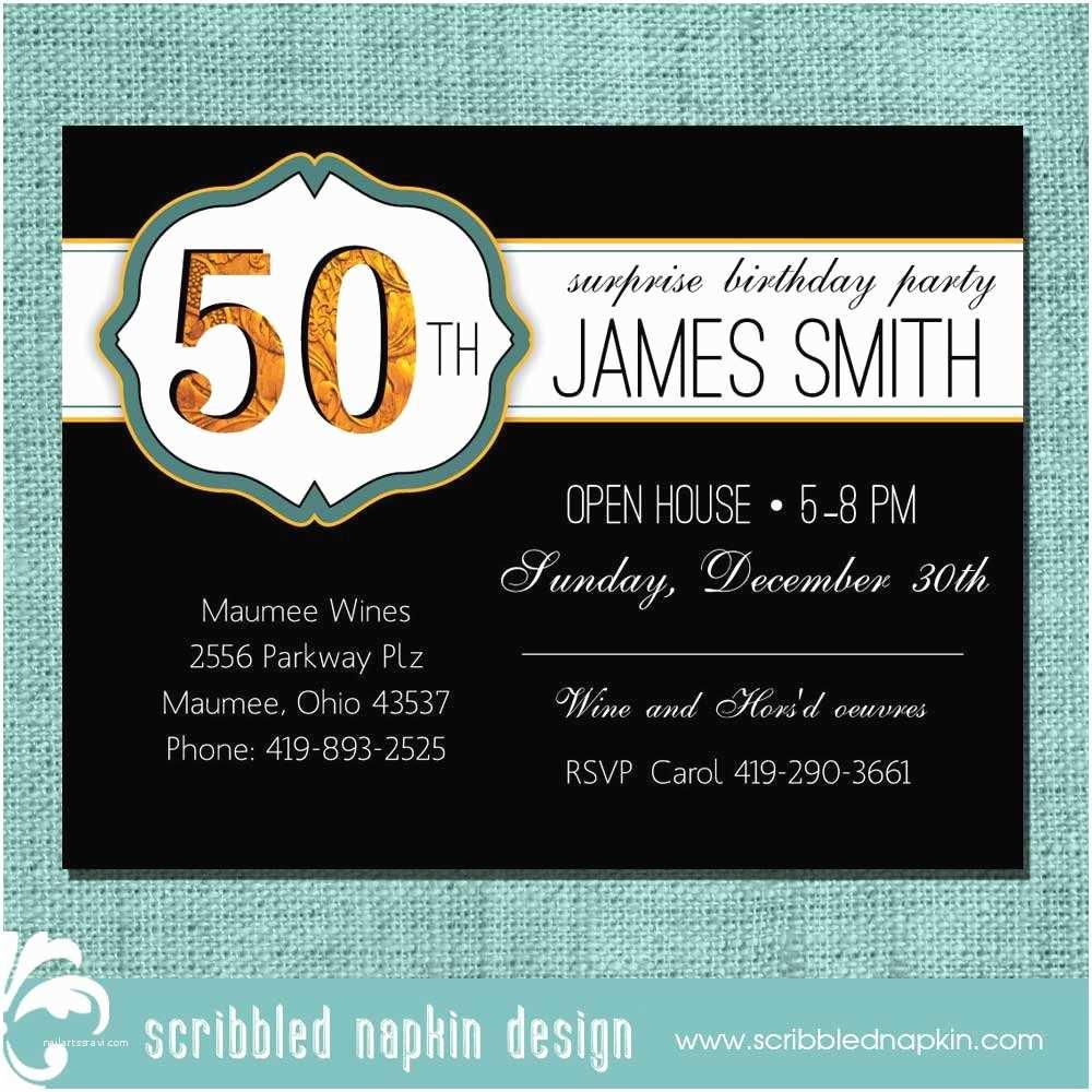 Design Birthday Invitations Create Own 50th Free Templates