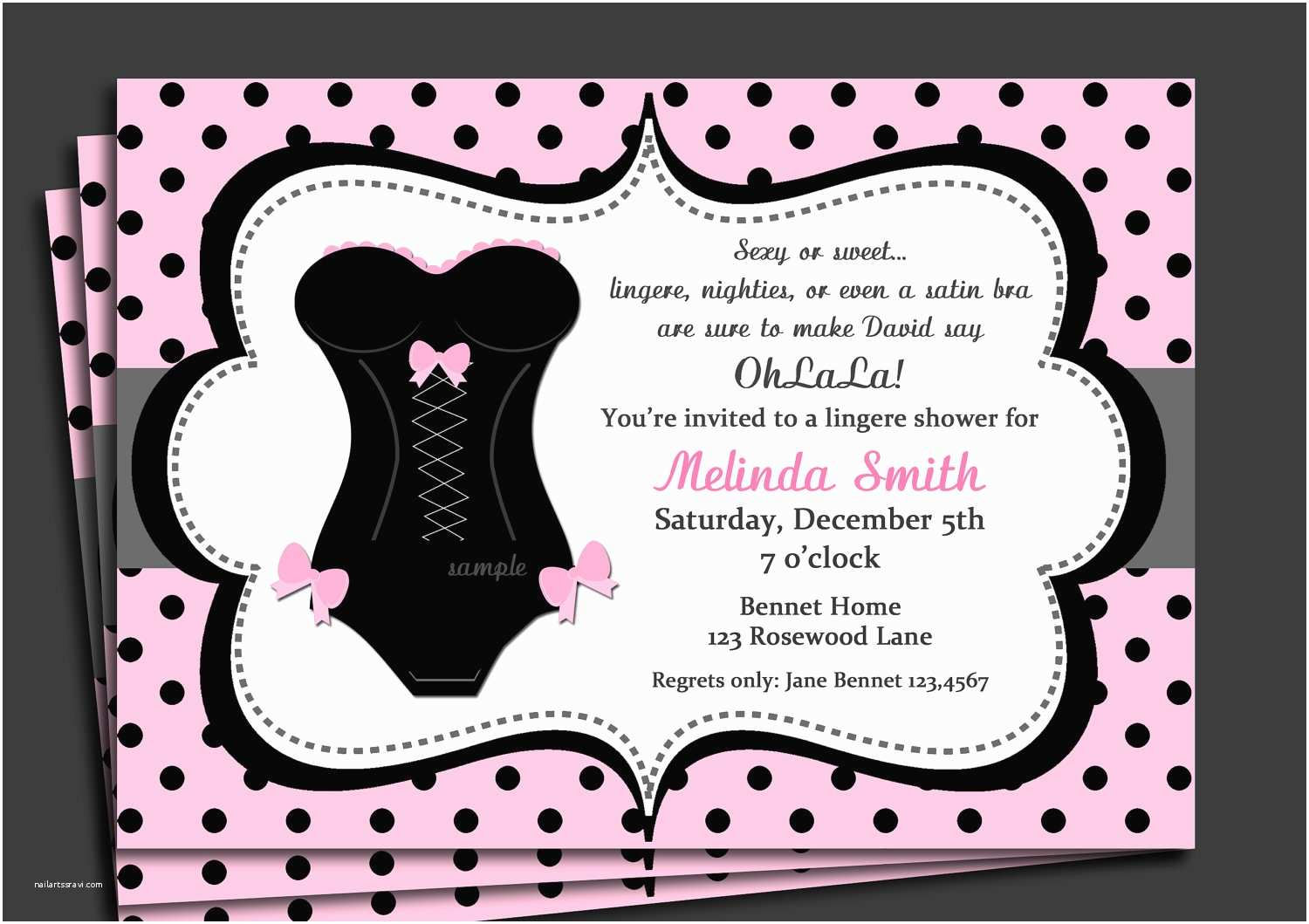 Design Party Invitations Bachelorette Party Invitations
