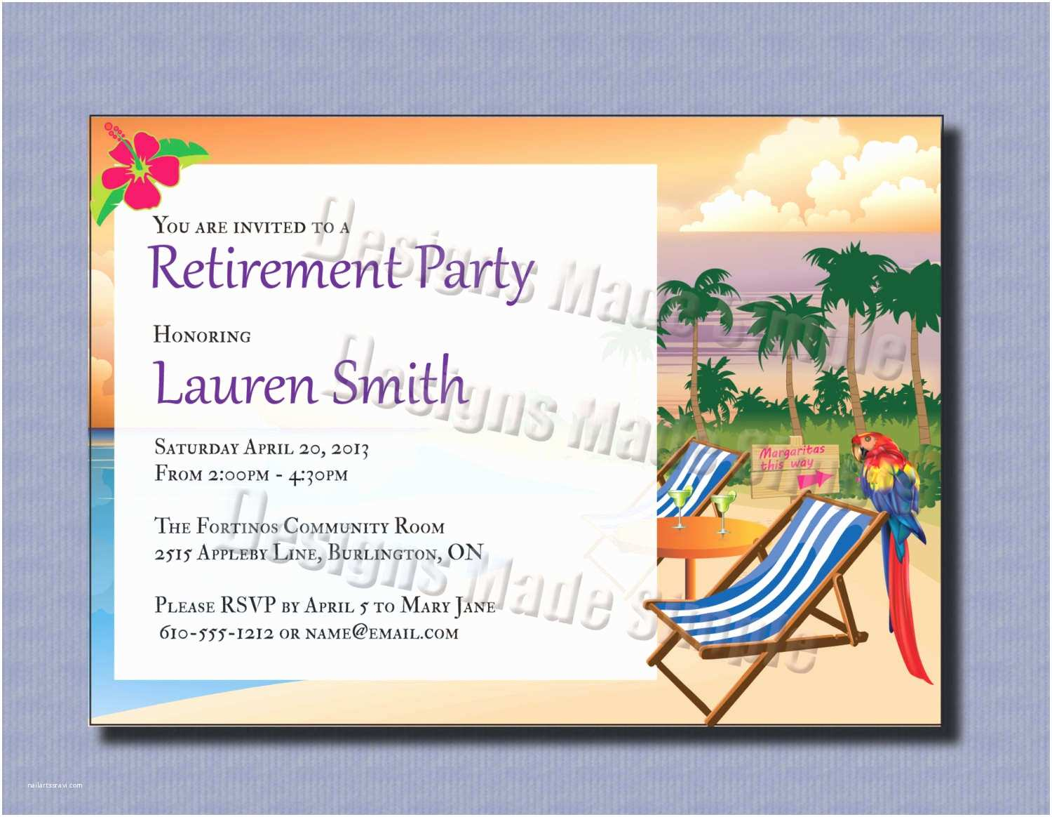 Design Party Invitations Free Printable Retirement Party Invitations