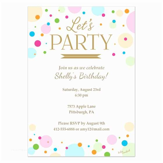 Design Party Invitations Let S Party Invitation Invitations & Cards On Pingg