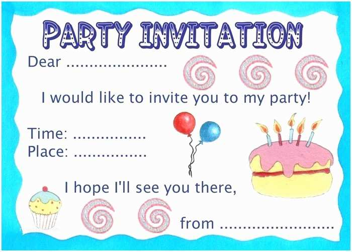 Design Your Own Party Invitations Make Your Own Party Invitations