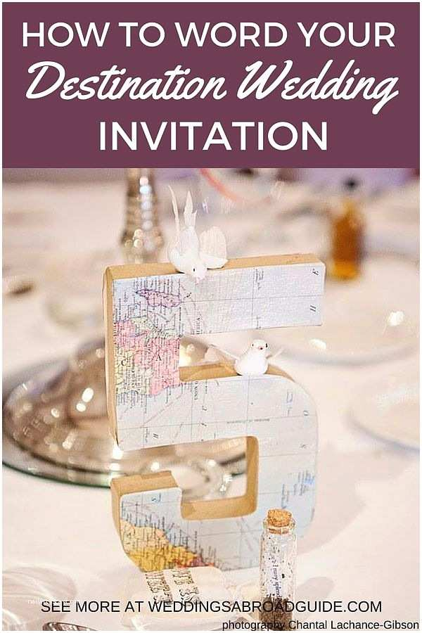 Destination Wedding Invitation Etiquette Getting Married Abroad Wedding Invitations Yourweek