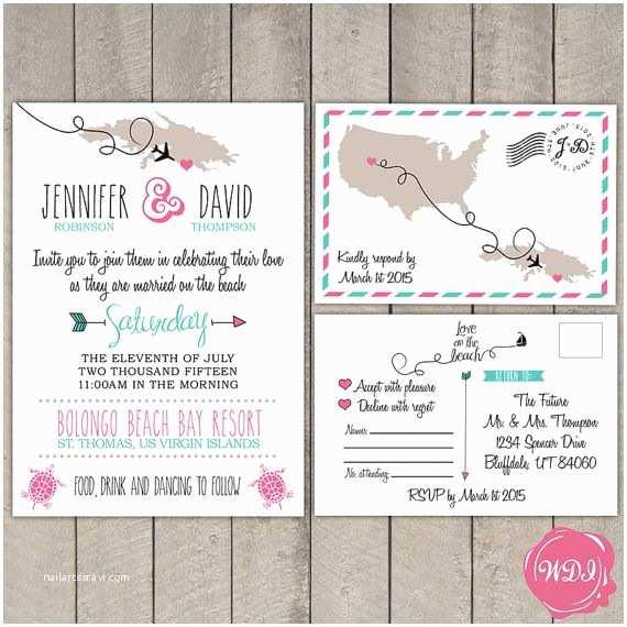 Destination Wedding Invitations 17 Best Ideas About Destination Wedding Invitations On