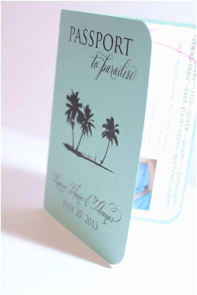 Destination Wedding Invitations Passport 25 Best Ideas About Fun Wedding Invitations On Pinterest
