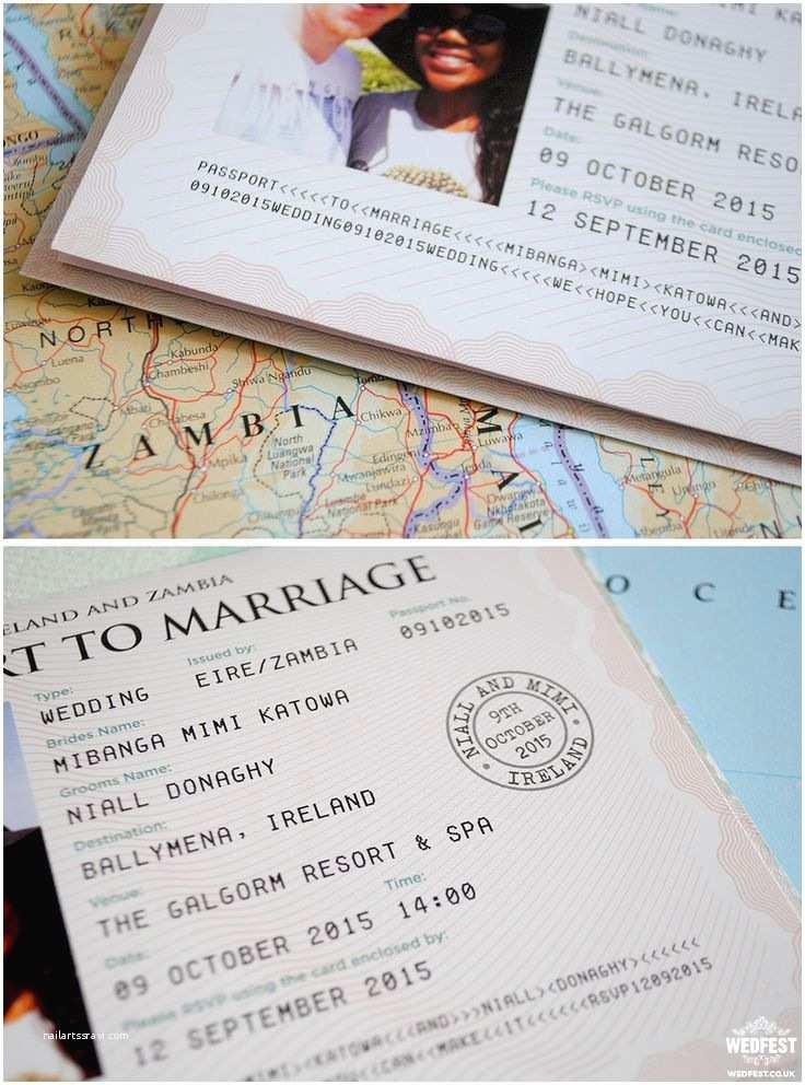 Destination Wedding Invitations Passport 25 Best Ideas About Passport Invitations On Pinterest