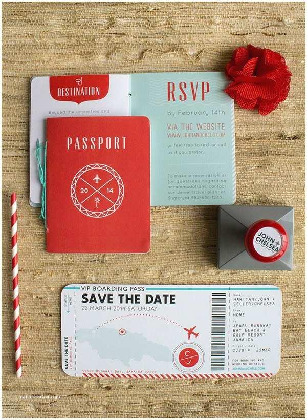 Destination Wedding Invitations Passport Destination Wedding Invitations Chelsea John On Behance