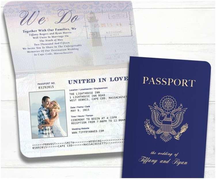 Destination Wedding Invitations Passport Unique Destination Wedding Invitation Ideas
