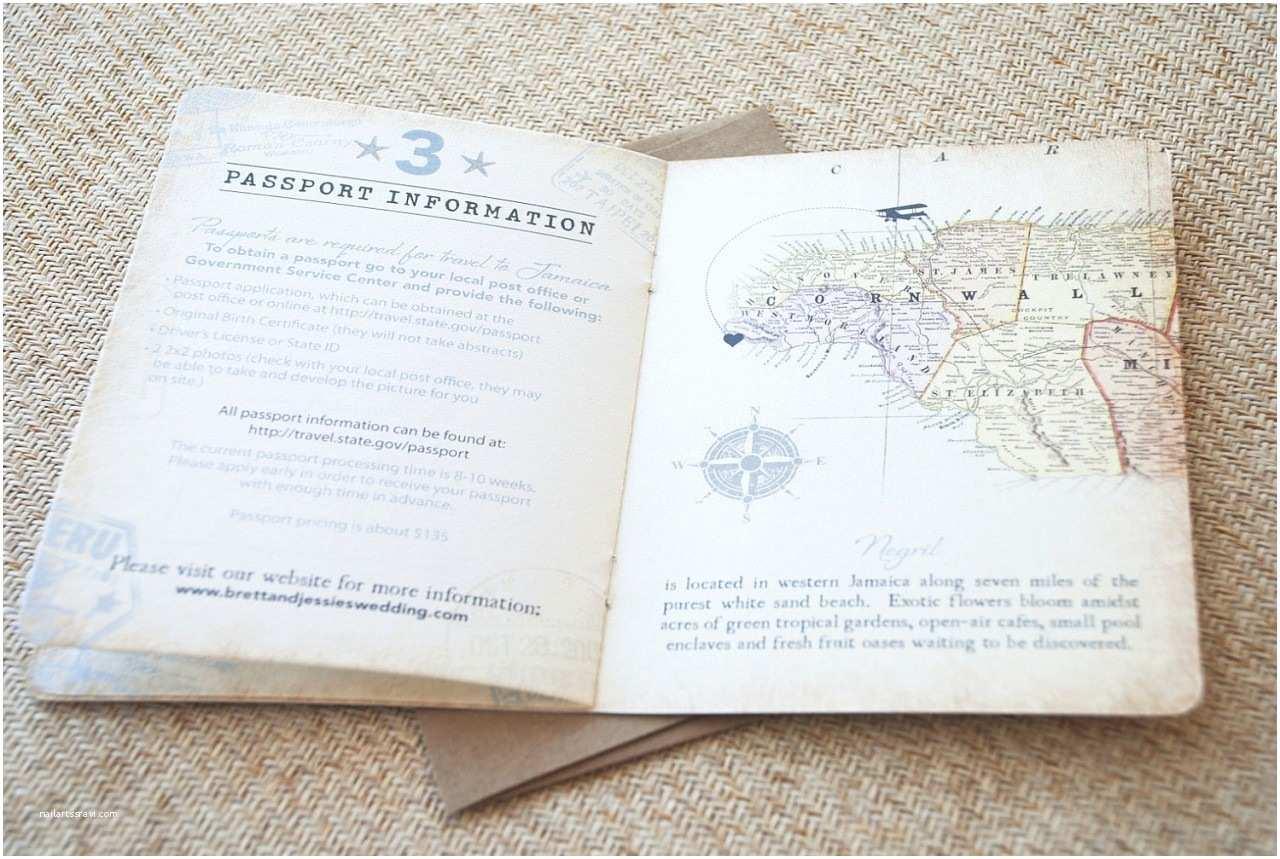 Destination Wedding Invitations Passport Vintage Passport Wedding Invitation Destination Wedding