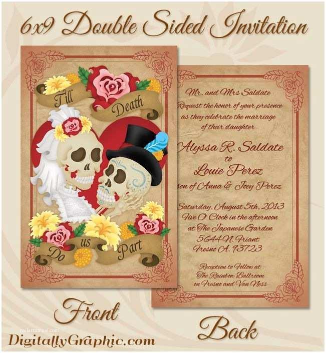 Dia De Los Muertos Wedding Invitations 1000 Images About Wedding Ideas On Pinterest