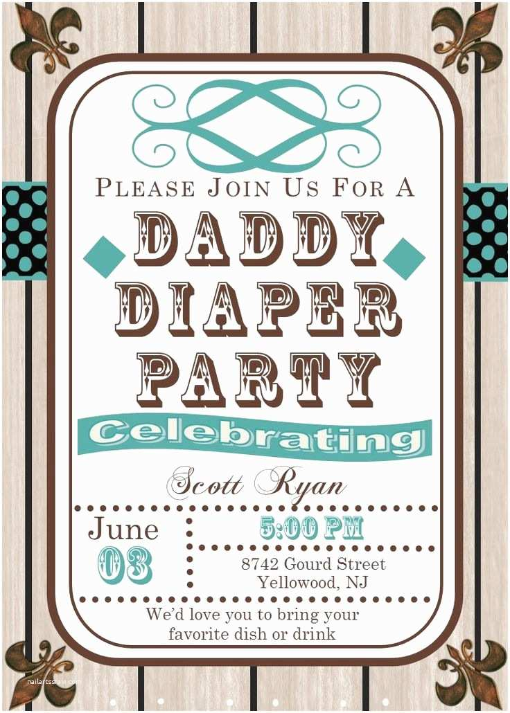 Diaper Party Invitations Best 25 Diaper Party Invitations Ideas On Pinterest