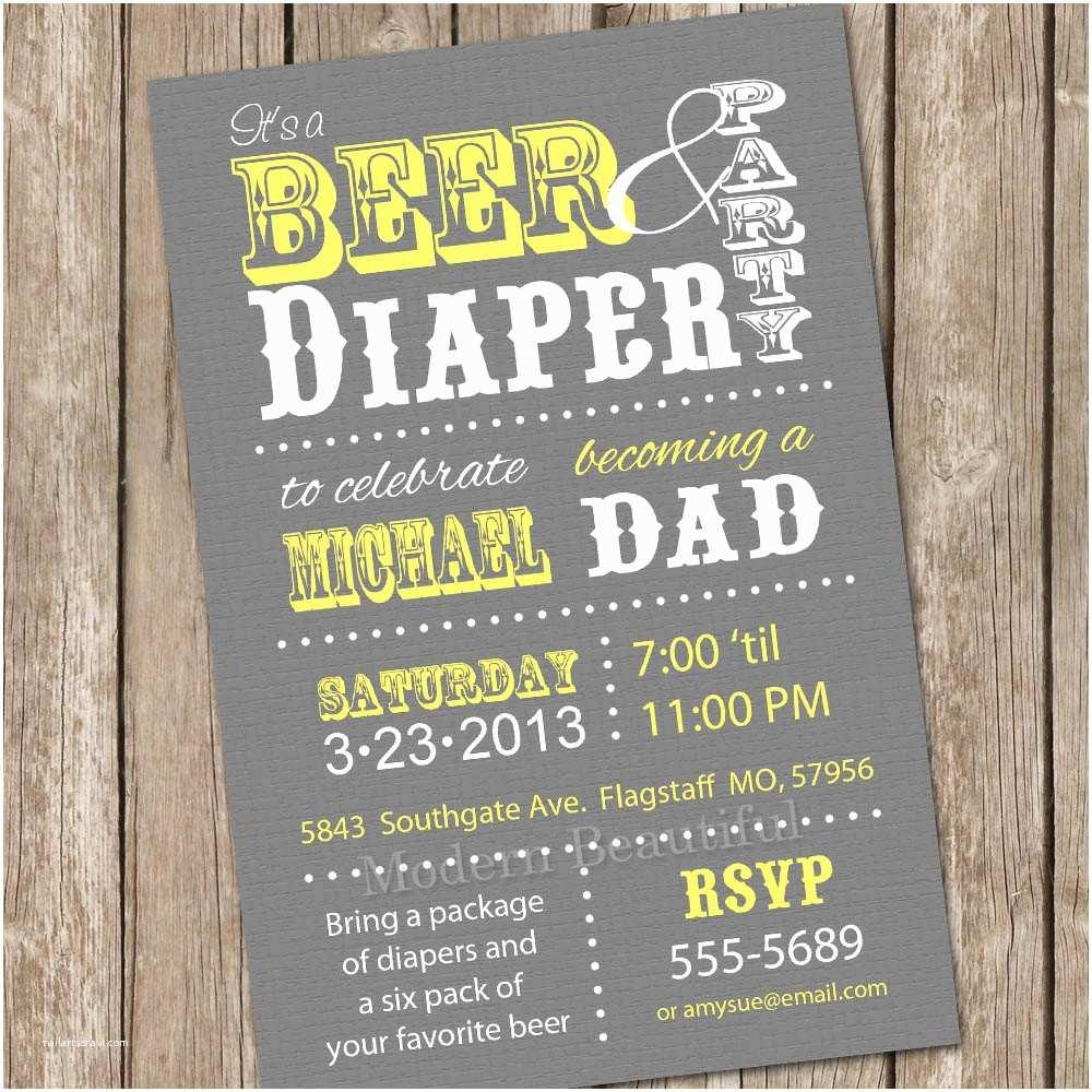 Diaper Party Invitations Diaper Party Invitations