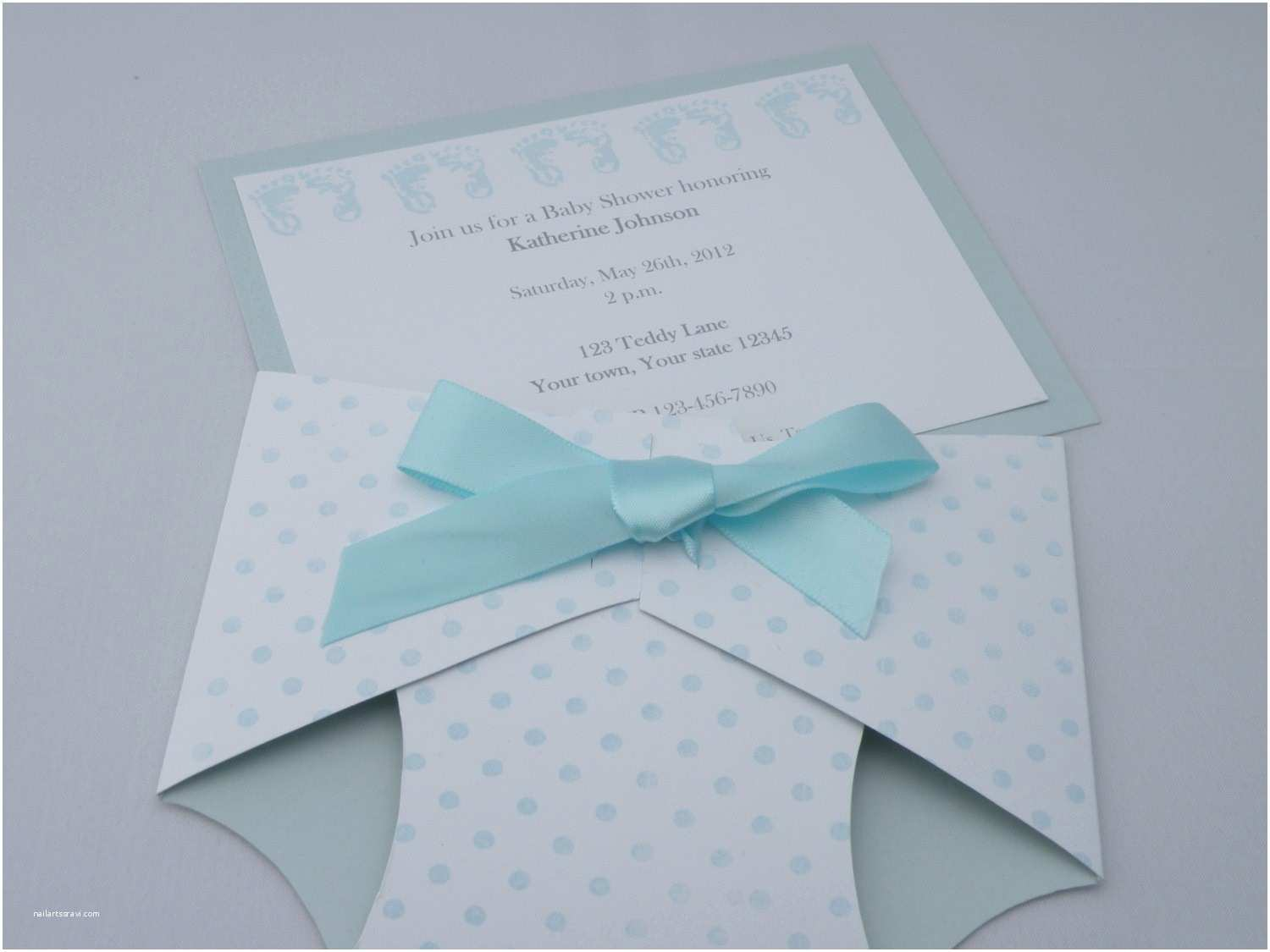Diaper Shaped Baby Shower Invitations Invitation for Baby Shower Glamorous Diaper Shaped Baby