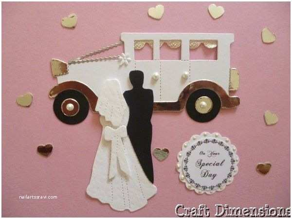 Die Cut Wedding Invitations Beautiful Vintage Wedding Car Die Cuts for Wedding
