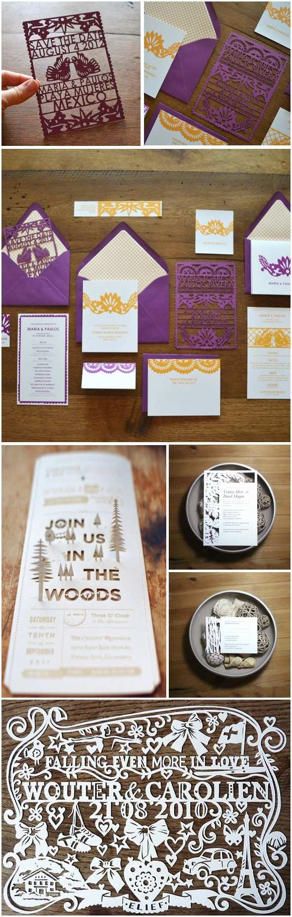Die Cut Wedding Invitations Die Cut Destination Wedding Invitations the Destination