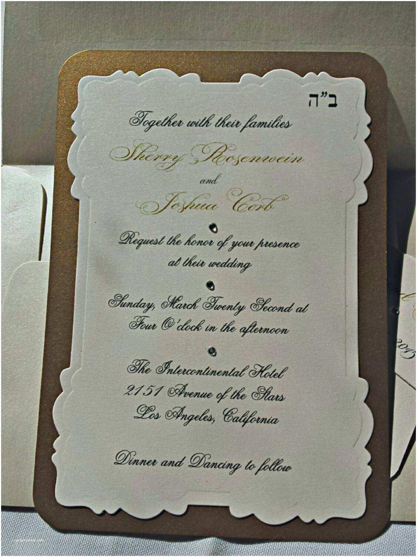 Die Cut Wedding Invitations Die Cut Wedding Invitation Wedding Invitation Gold and