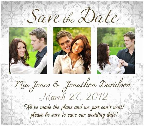 Difference Between Save the Date and Wedding Invitation Address for Save the Date Wedding Invitation with