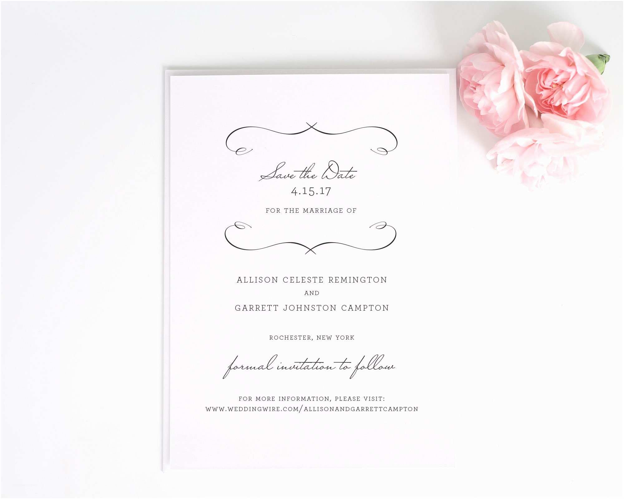 Difference Between Save the Date and Wedding Invitation French Country Save the Date Cards Save the Date Cards