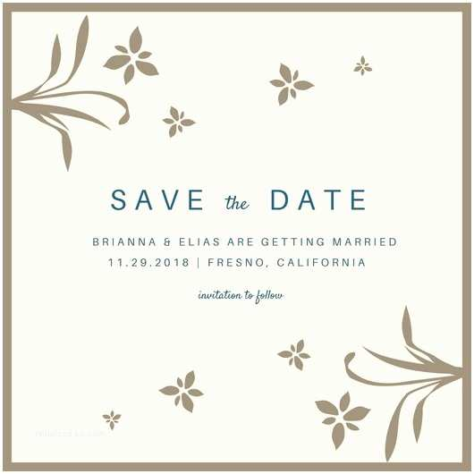 Difference Between Save the Date and Wedding Invitation Save the Date Template Free Download Template