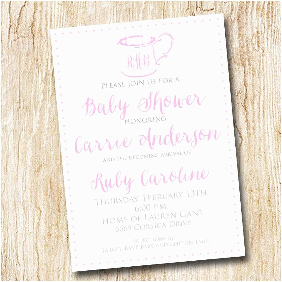Digital Baby Shower Invitations Baby Shower Invitations Digital File Sip and See
