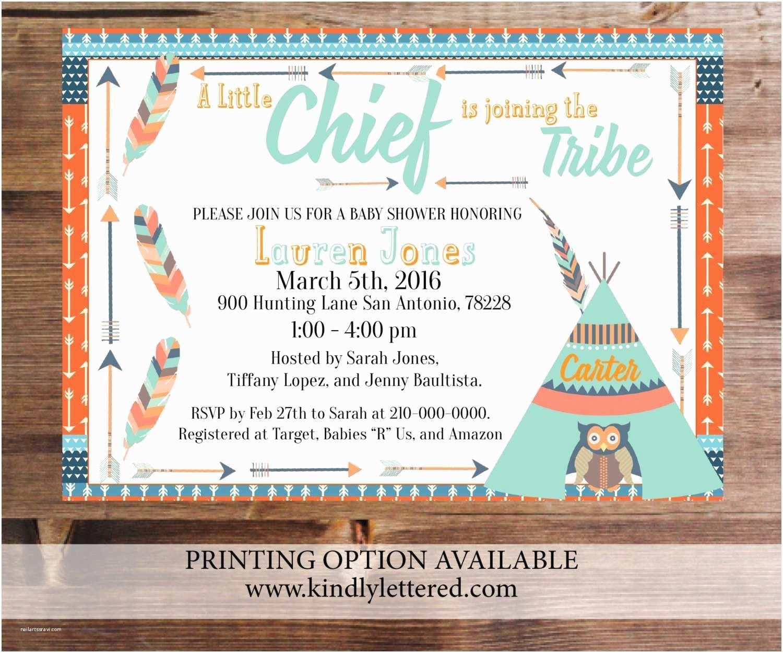 Digital Baby Shower Invitations Tribal Baby Shower Invitations Digital File 5x7 Tribal Owl