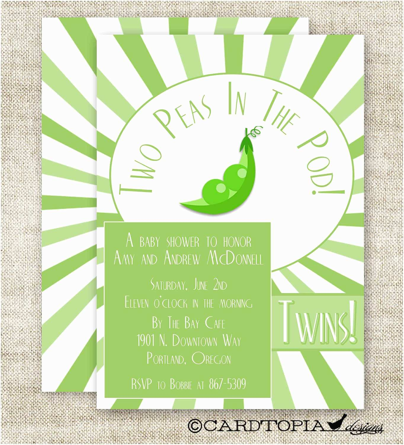 Digital Baby Shower Invitations Twin Baby Shower Invitations Digital Printable Personalized