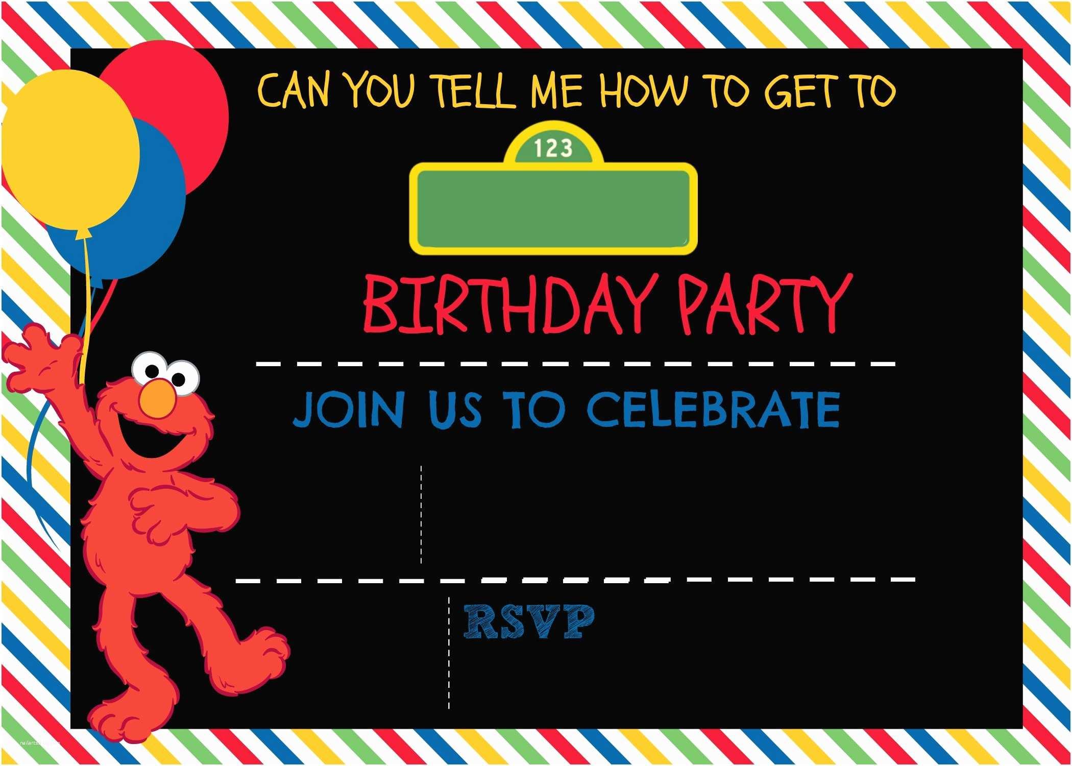 Digital Birthday S How To Make A Sesame Street Digital