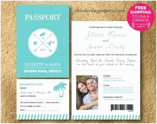 Digital Wedding Invitations Free Free Shipping Printed Digital Passport Wedding