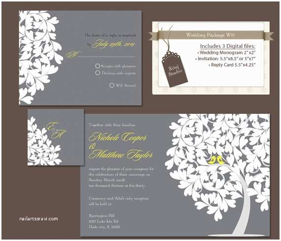 Digital Wedding Invitations Free Items Similar to Digital Wedding Invitation Package Diy