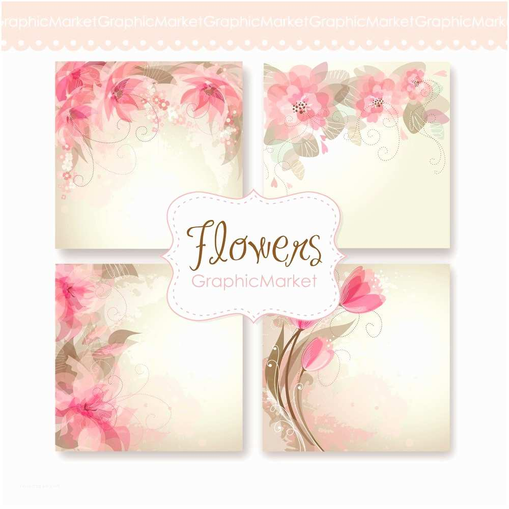 Digital Wedding Invitations Free Wedding Digital Floral Card for Wedding Invites Scrapbooking
