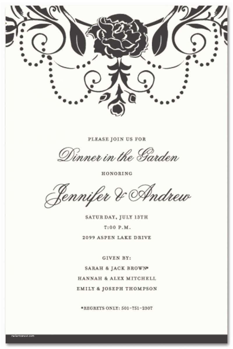 Dinner Party Invitation Template Business Dinner Invitation Template Resume Builder