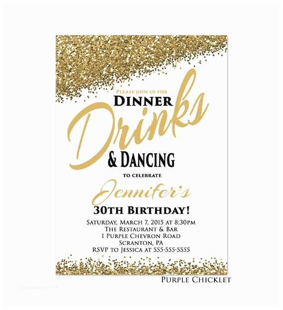 Dinner Party Invitation Wording Birthday Dinner Invitation Card to Pin On