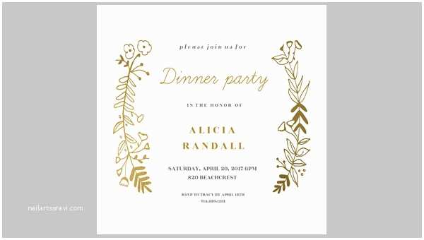 Dinner Party Invitations 47 Printable Dinner Invitation Templates