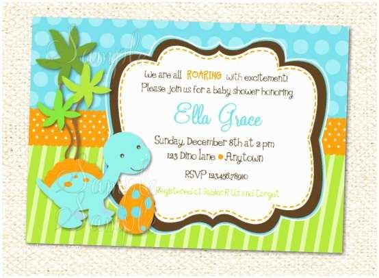 Dinosaur Baby Shower Invitations Dinosaur Baby Shower Invitations