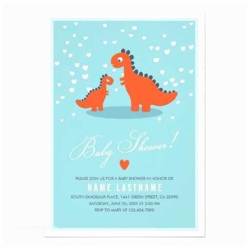 Dinosaur Baby Shower Invitations Personalized Dinosaur Baby Invitations