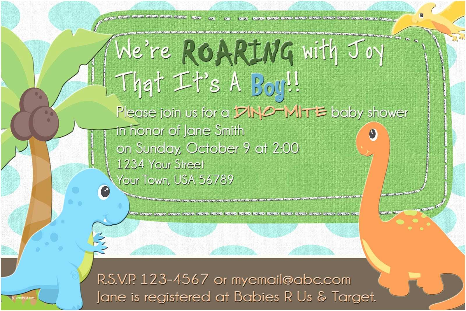 Dinosaur Baby Shower Invitations the Fast Lane ♥ Freebie Friday Dinosaur Baby Shower