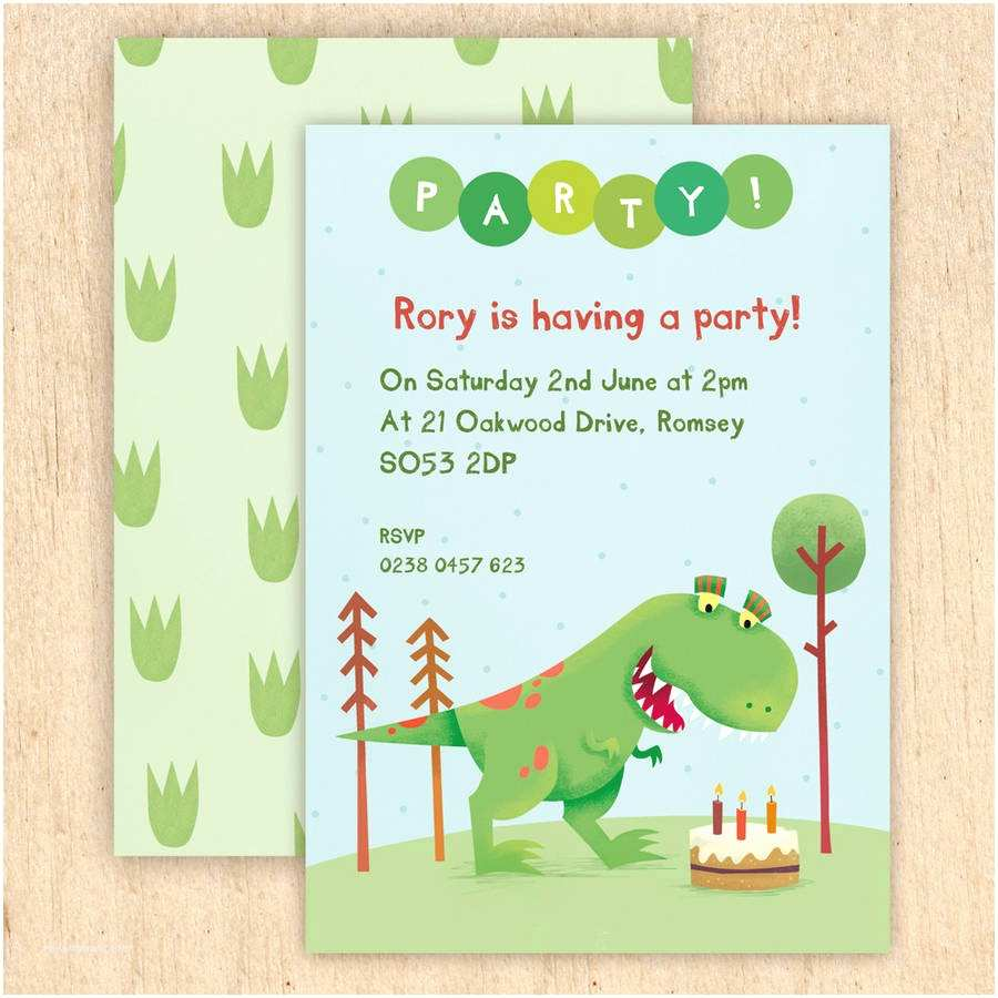 Dinosaur Birthday Invitations Tips For Choosing Party Templates