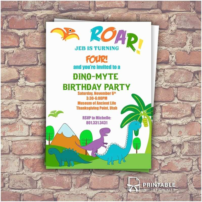 dinosaur birthday party invitations dinosaurs invitation for