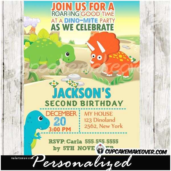 Dinosaur Party Invitations 18 Best Images About Dinosaur Party Invitations Ideas