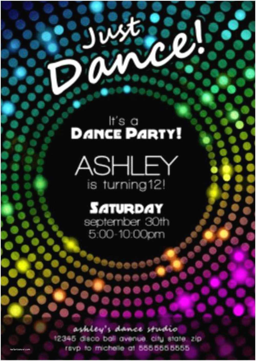 Disco Party Invitations Disco Party Invitations – Gangcraft