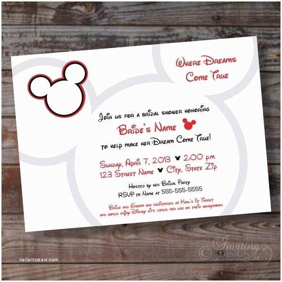 Disney Bridal Shower Invitations 17 Best Ideas About Disney Bridal Showers On Pinterest
