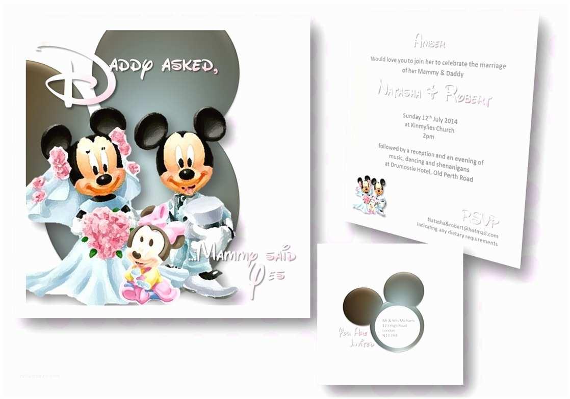 Disney themed Wedding Invitations 50 New Disney themed Wedding Invitations