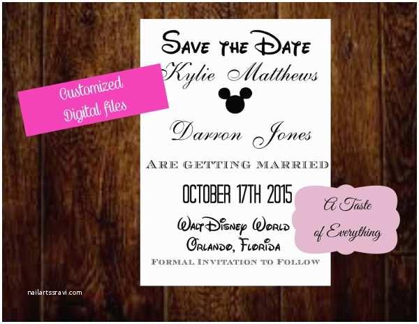 Disney Themed Wedding Invitations 8 Disney Wedding Invitation Template Free