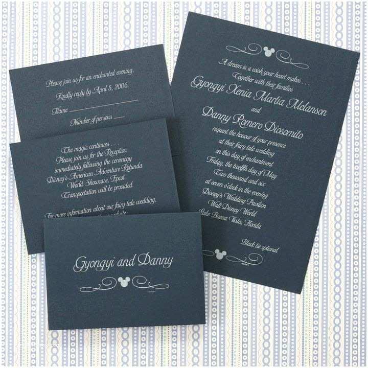 Disney Themed Wedding Invitations Classic Mickey Wedding Invite I Love The Swirls