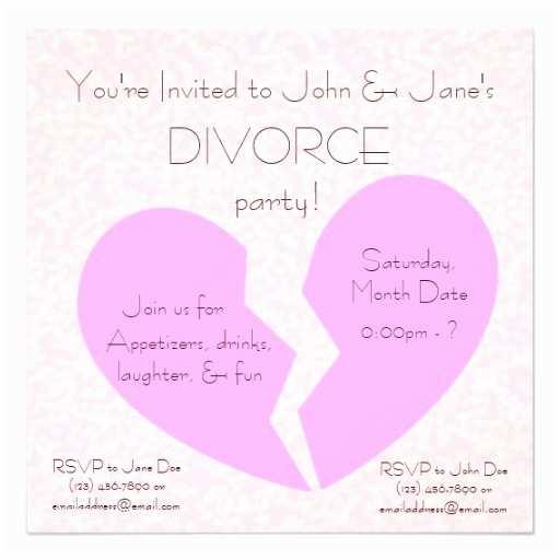 Divorce Party Invitations 214 Divorce Party Invitations Divorce Party